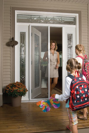Mirage Retractable Screen for entry door