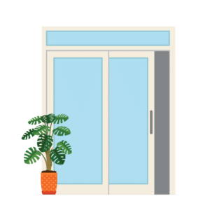 Patio Slider Door graphic