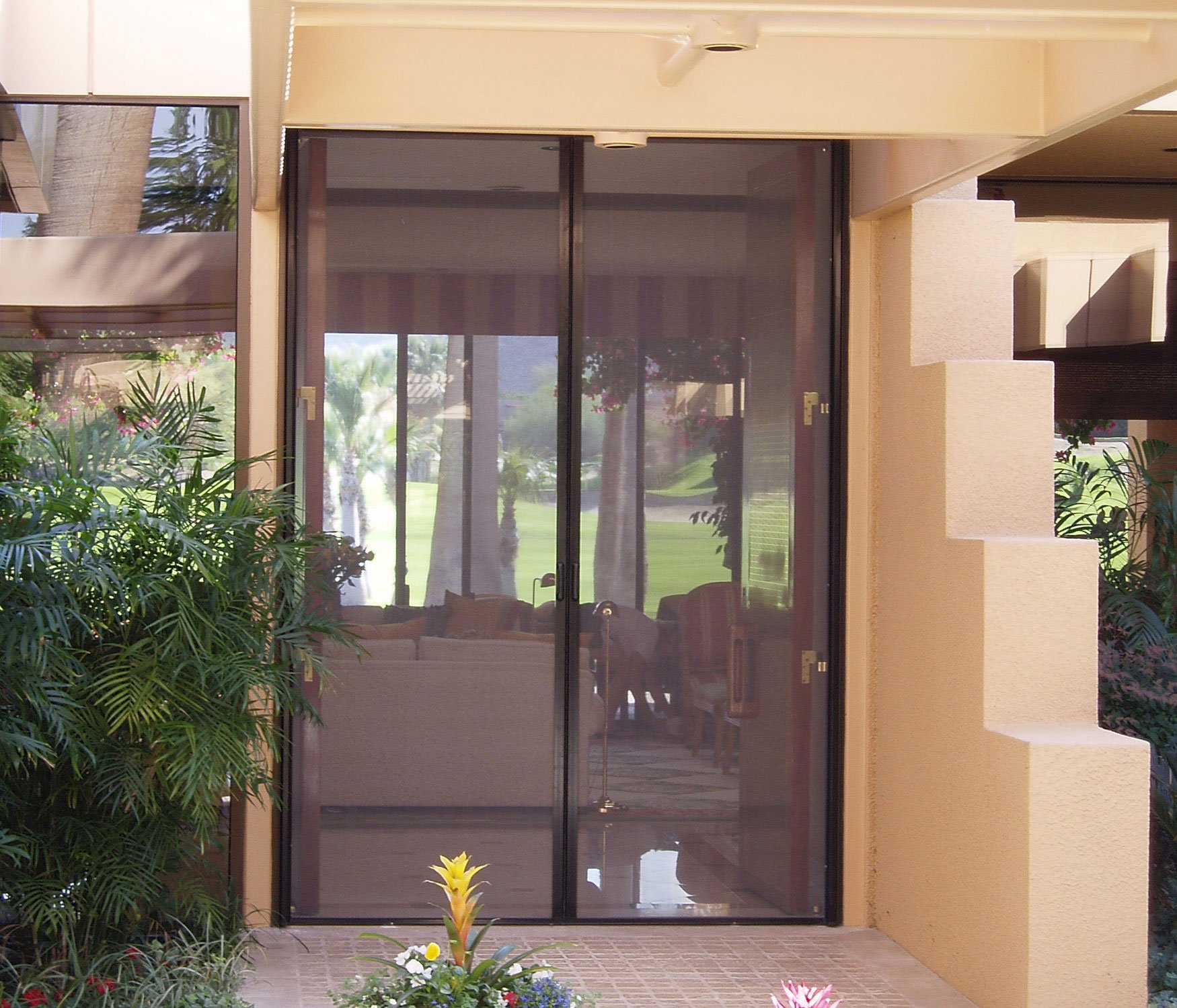Mirage Retractable Screen for double french doors