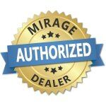 Mirage Authorized Dealer badge