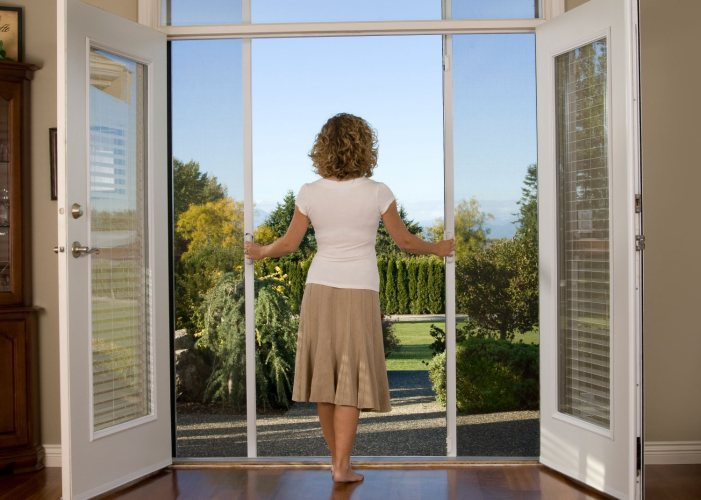 Allowing cool breeze into your home with Mirage Retractable Screen