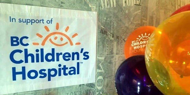 BC Childrens Hospital banner