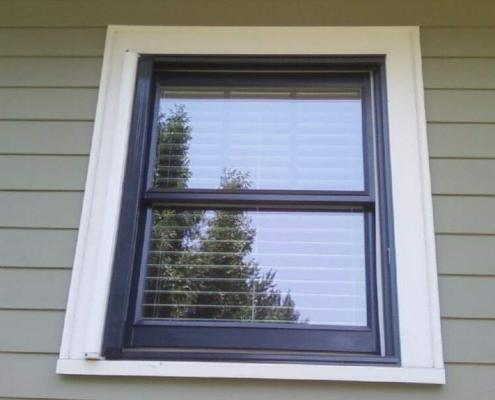 retractable window screen exterior