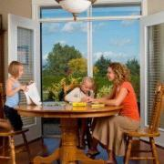 Retractable screen doors will keep your family comfortable by letting fresh air inside