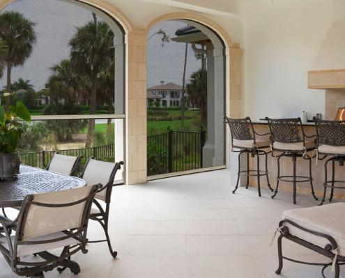large opening retractable screens for patio enclosures