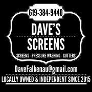 Dave's Screens logo