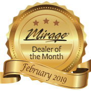 February 2019 Mirage Dealer of the Month Award