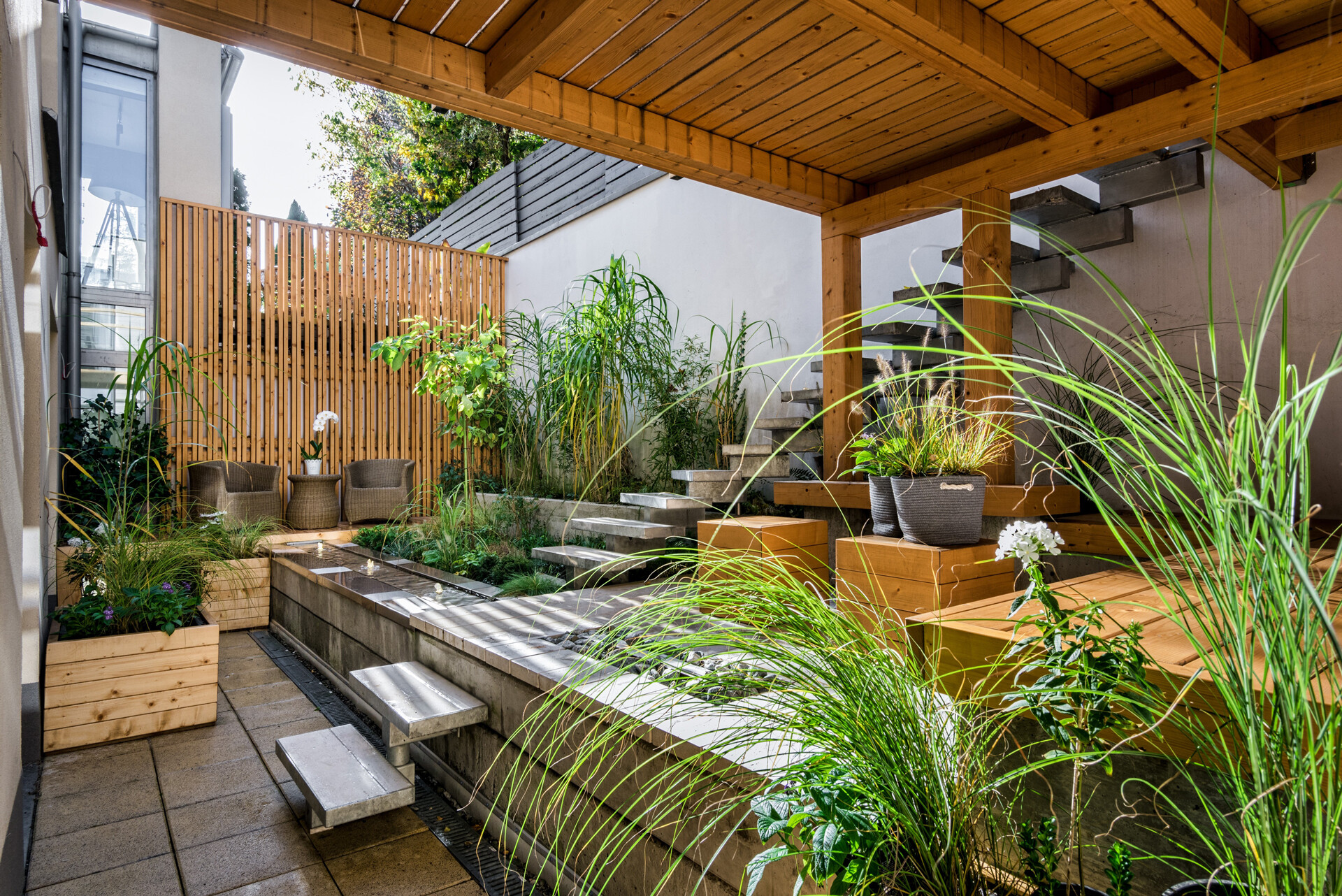 Plants add greenery that add life to your patio