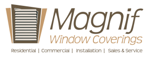Magnif Window Coverings logo